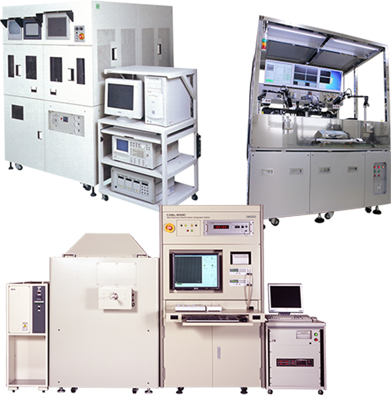 Manufacturing and inspection equipment for laser diodes