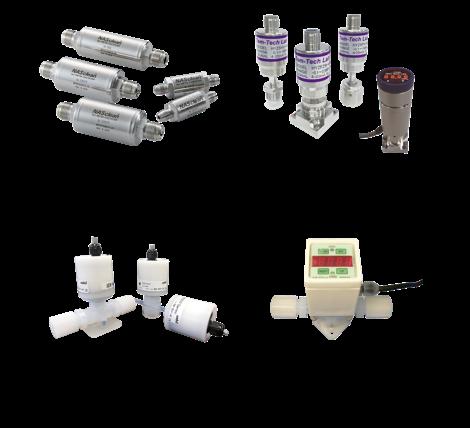 ガスフィルター / 圧力センサー