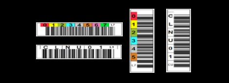 LTO bar code label sale