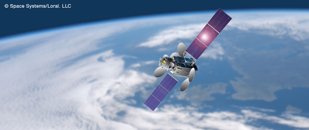 Connecting in space at altitude 36,000Km
